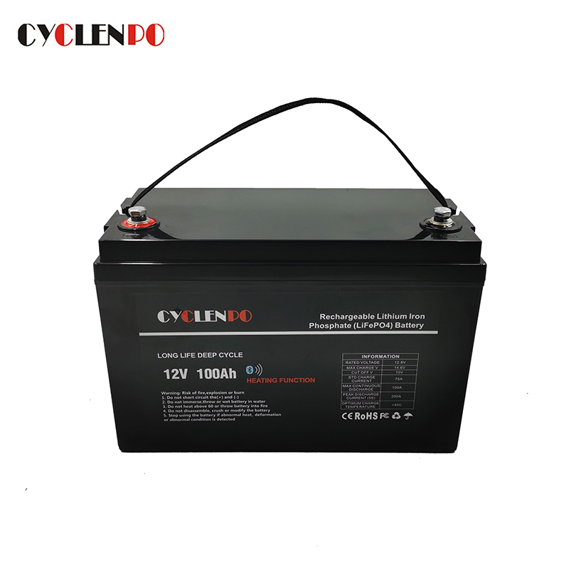 100 amp hour lithium battery manufacturers