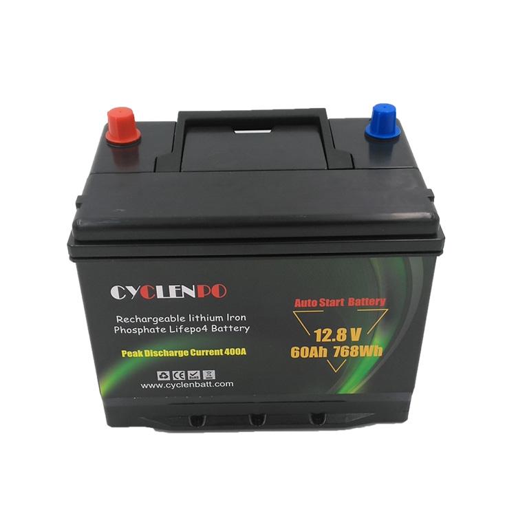 600CCA starter battery