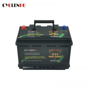 Long Lifespan LiFePO4 12V 50AH Lithium Starter Battery