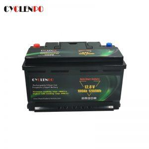 lithium lifepo4 starter battery