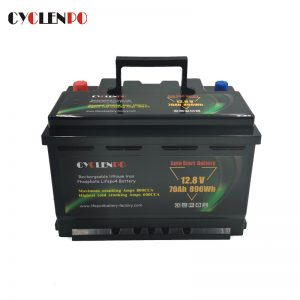 Lithium LiFePO4 Cranking Battery 12V 70Ah For Cars And Trucks