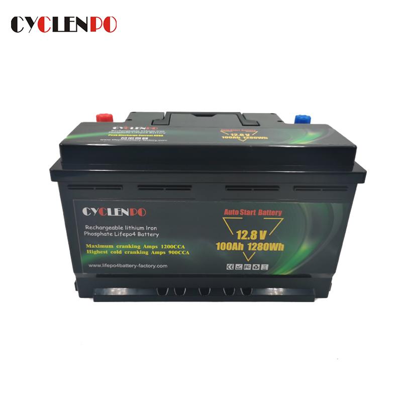 lithium cranking battery 12v