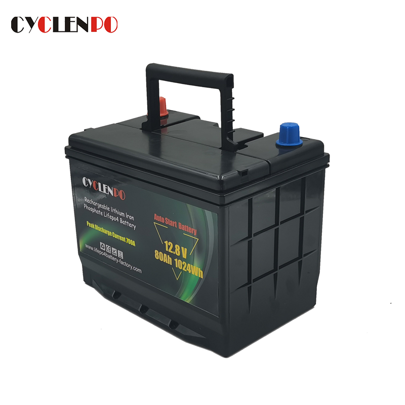 600CCA cranking battery lithium
