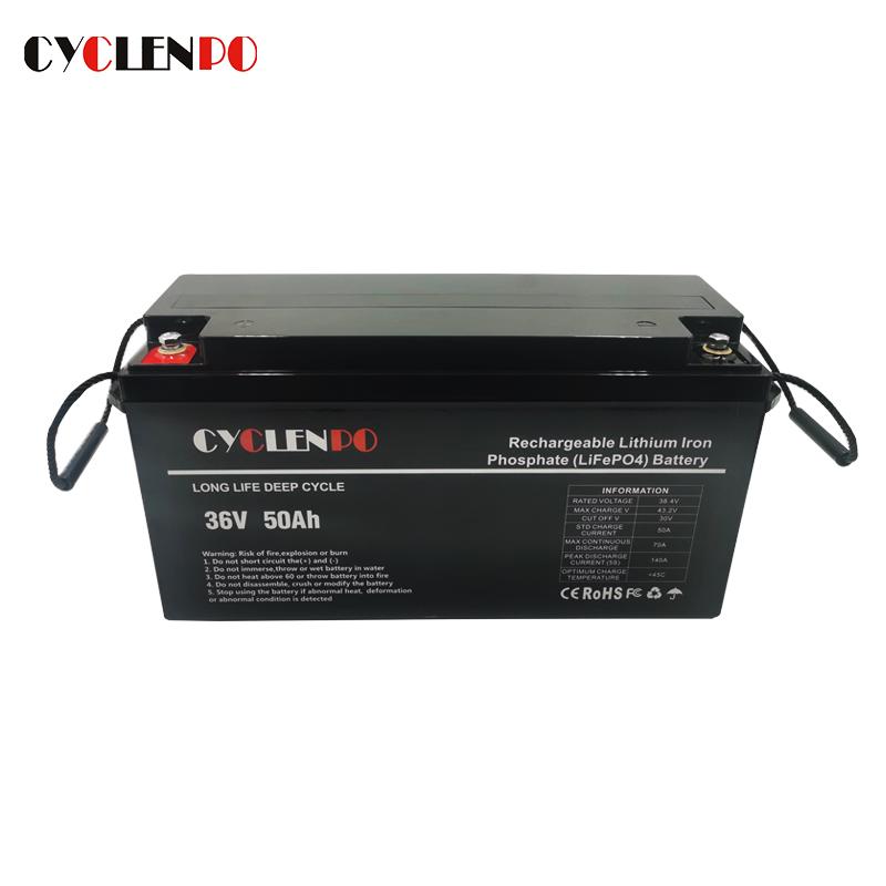 36v 50ah lifepo4 battery