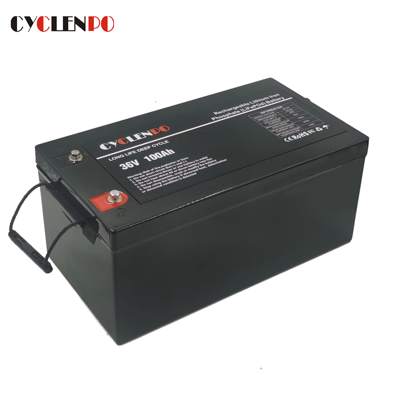 LiFePO4 36V 100Ah Lithium Battery For Boat Marine Yacht