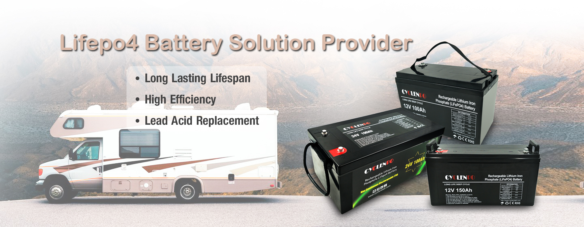 lifepo4 battery manufacturer