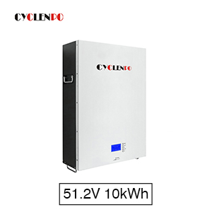 10KWH Lithium Home Battery 16S LifePO4 51.2V 200Ah Powerwall