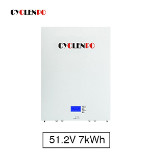 51.2V 150Ah 7KWH Lithium Lifepo4 Power Wall