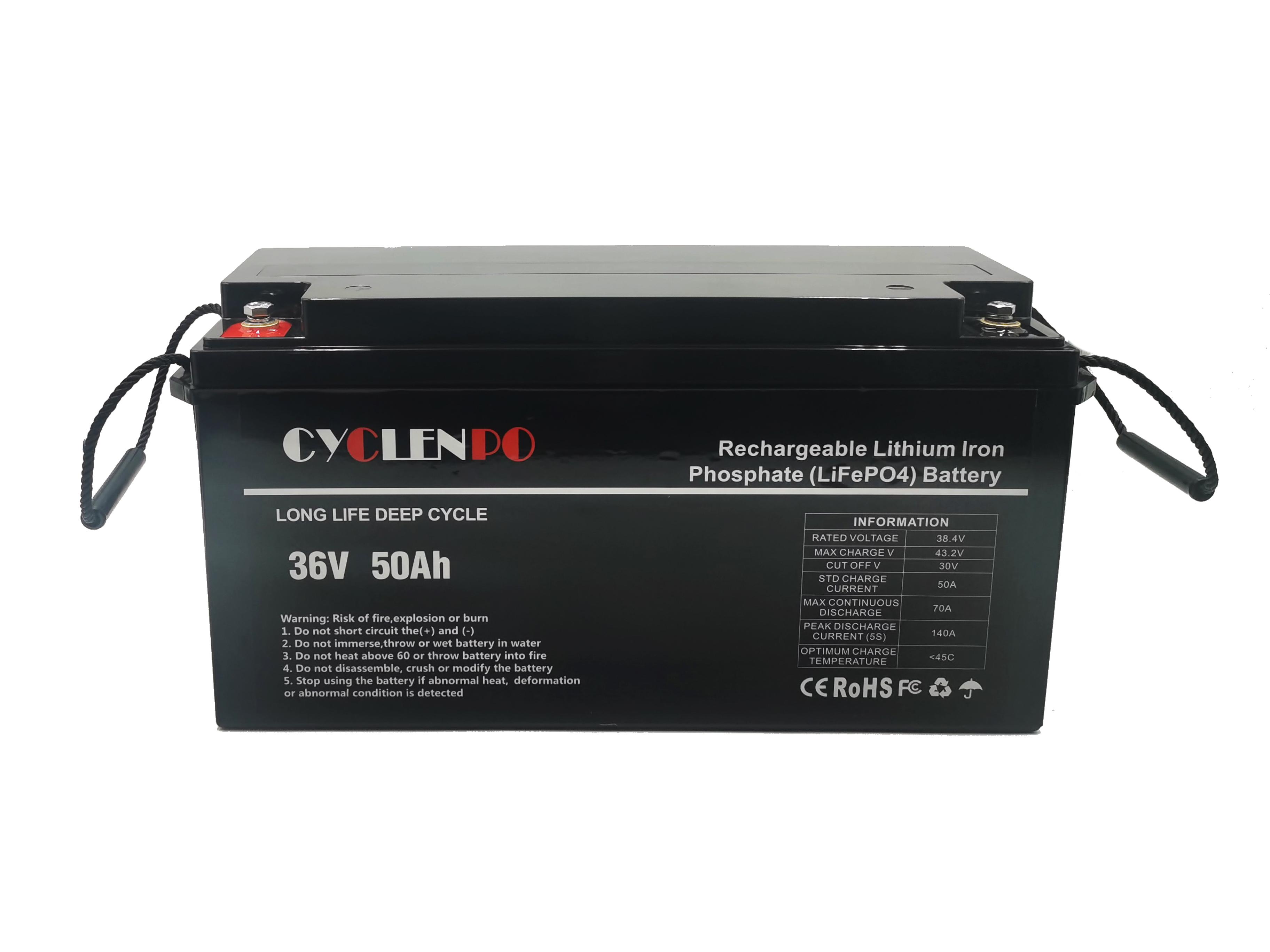 36v lifepo4 marine battery