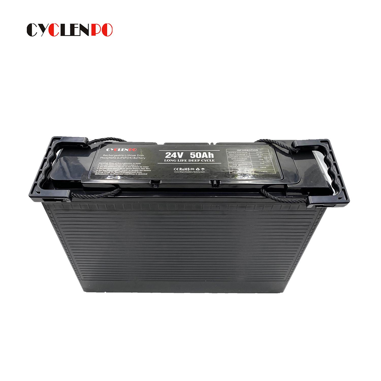 Auto batteries 24v 50ah