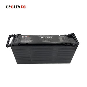 Off road vehicle 12v 120ah lithium ion battery ultra thin lifepo4 12v 120ah for solar energy system