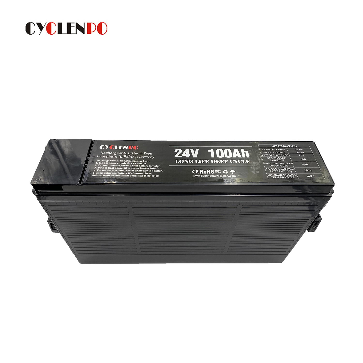 lithium ion batteries 24v 100ah