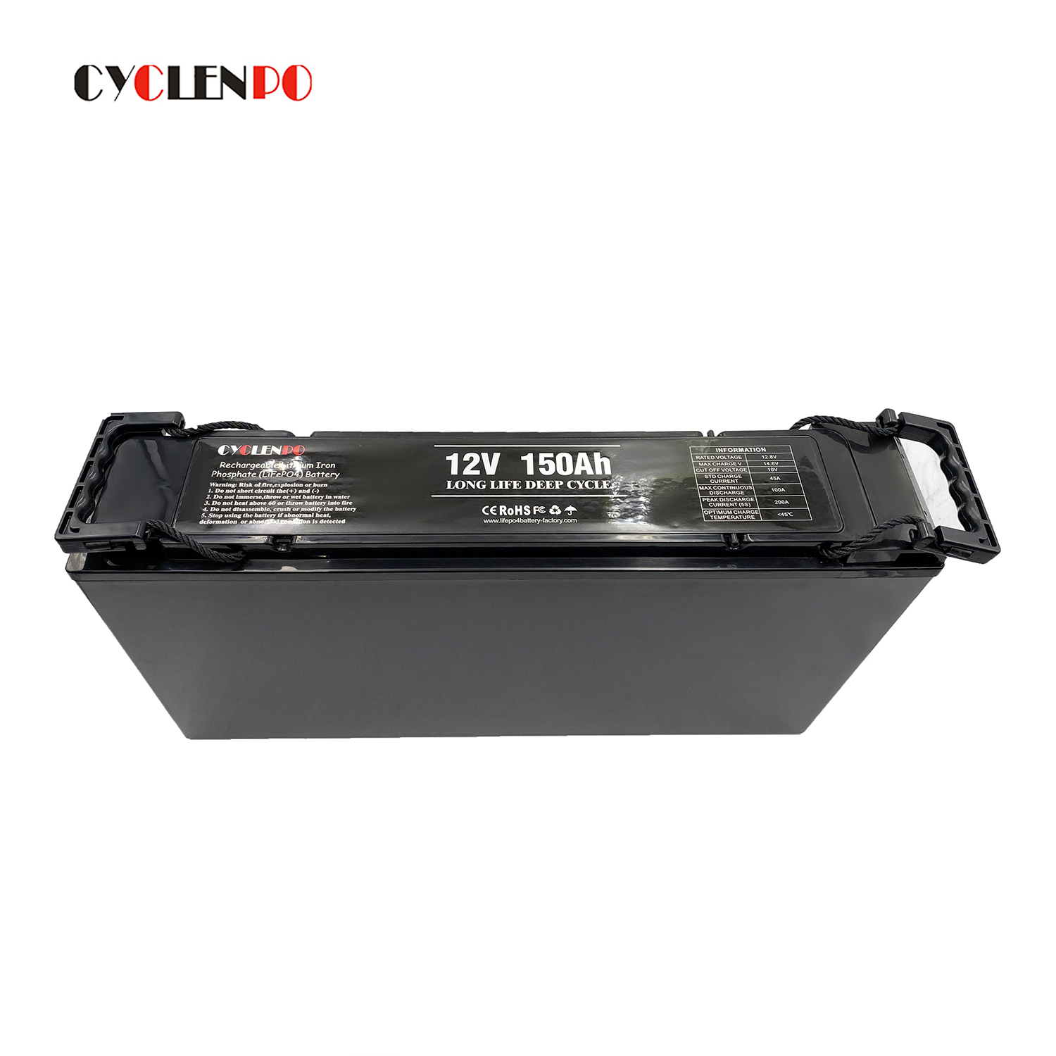 Vehicle/off road 12v lithium ion battery 12v 150ah auto batteries 150ah deep cycle for solar energy system